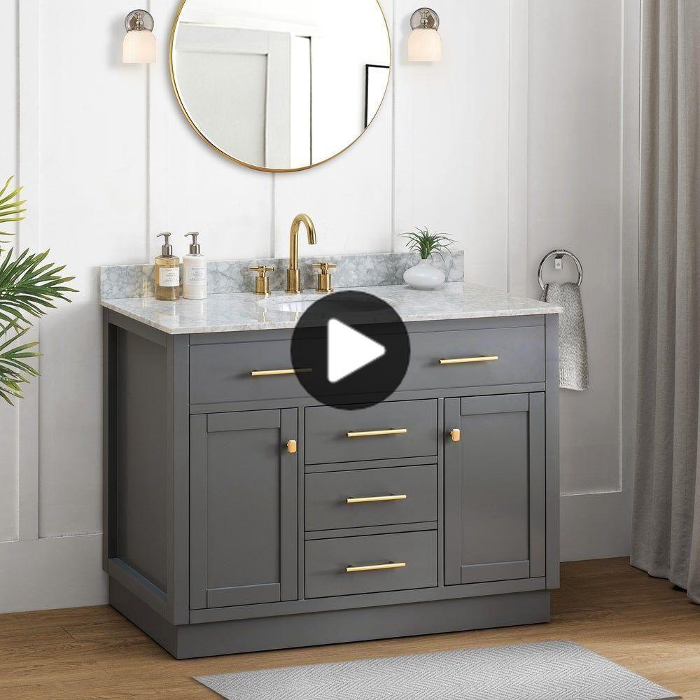 Pin on Products   Single sink bathroom vanity, Bathroom styling ...