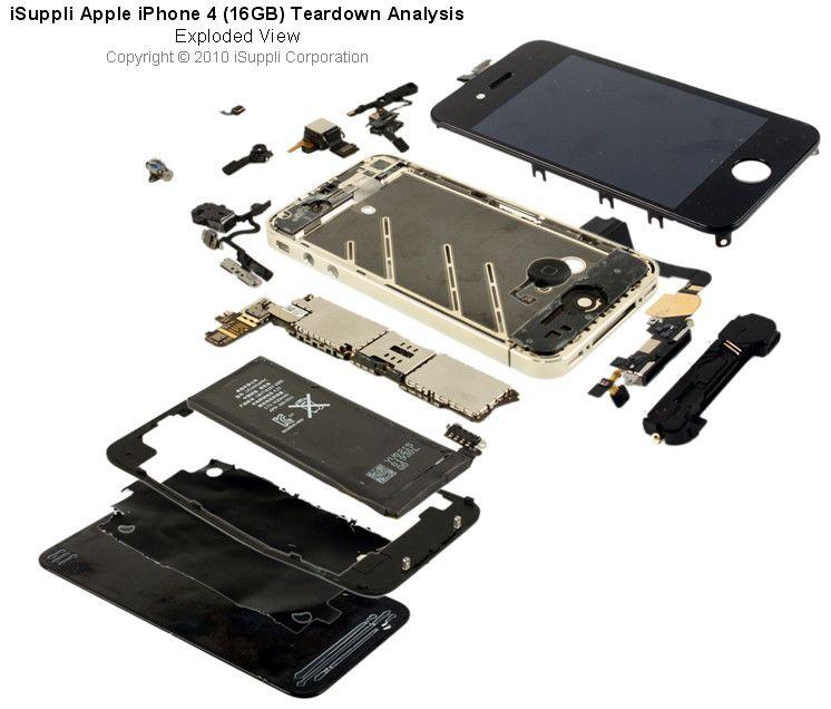 Iphone 4s Exploded Diagram Circuit Diagram Symbols