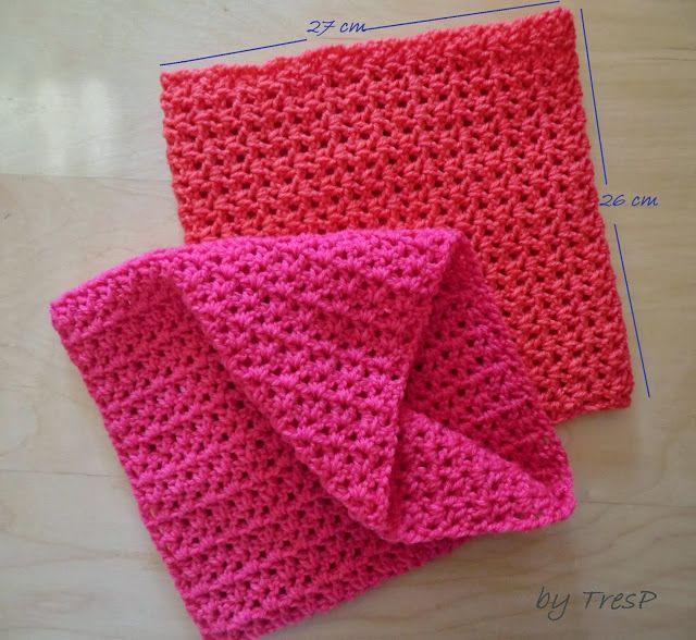 TresP craft blog: CUELLO DE CROCHET PARA NIÑAS CON PATRÓN | crocher ...