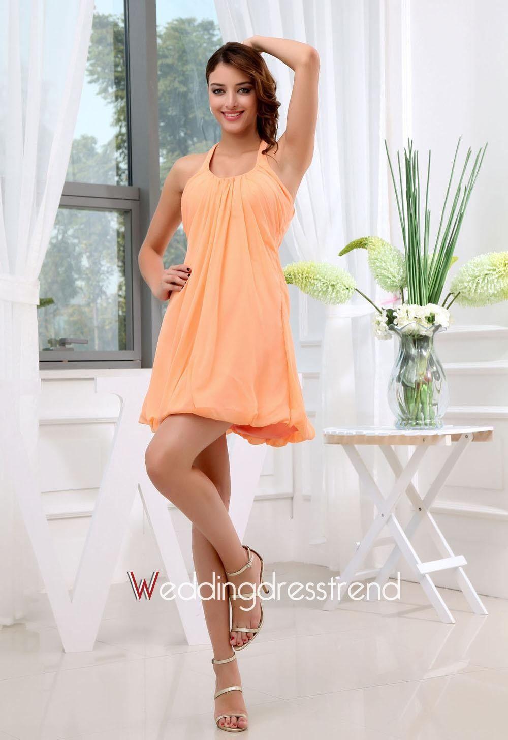 unusual ruched shortminilength bridesmaid dress bella and