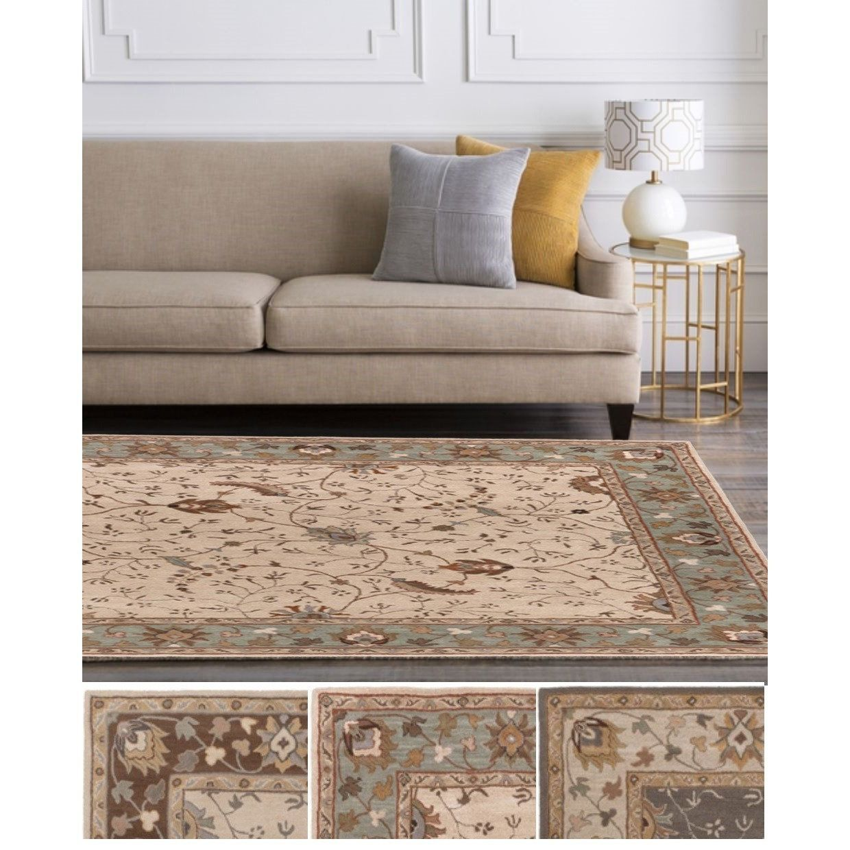 Hand-Tufted Toby Rug