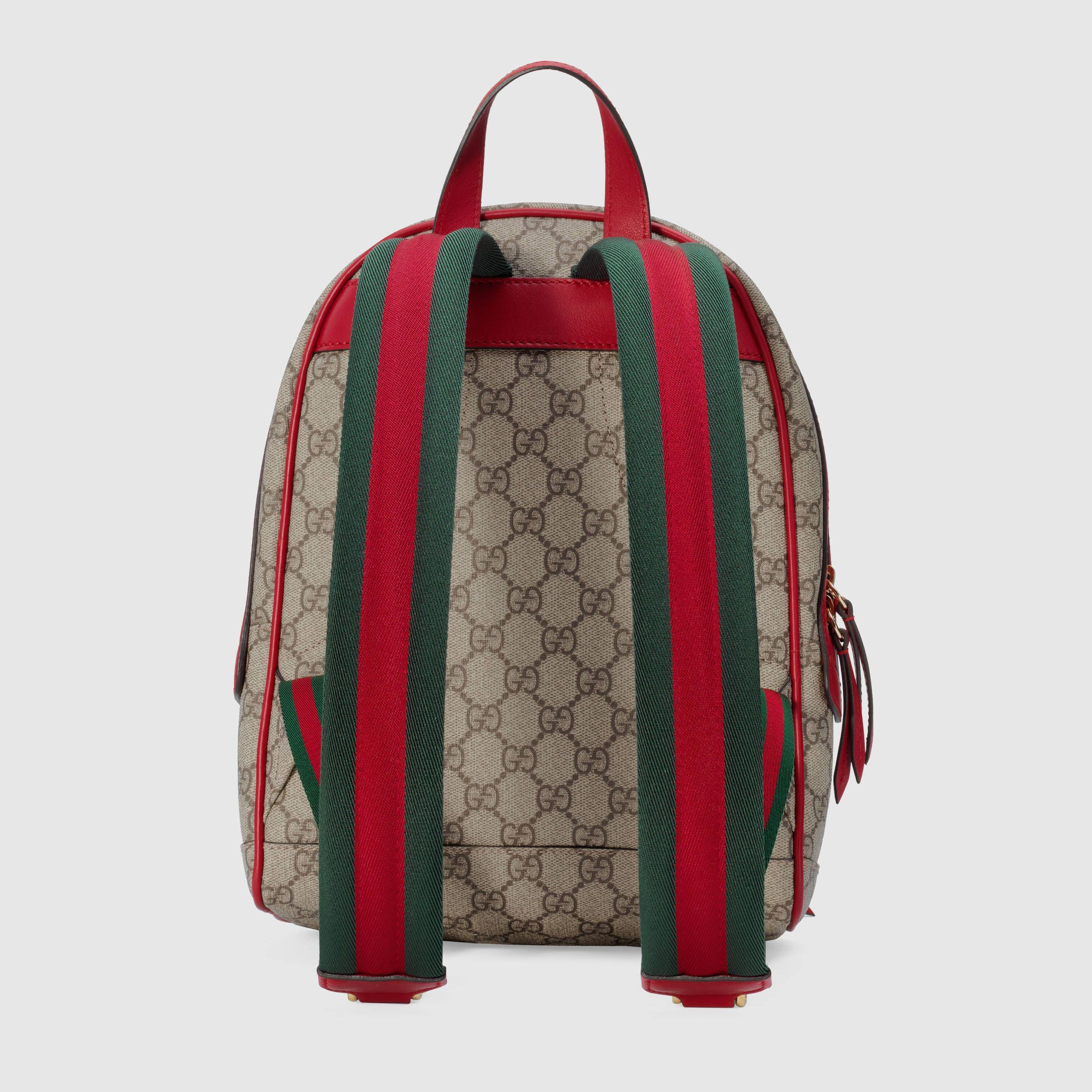 ba45dc844 Limited Edition GG Supreme backpack - Gucci Women's Backpacks ...