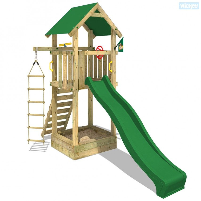 Wooden play tower WICKEY Harry`s Magic Tower plastic 401011_k ...