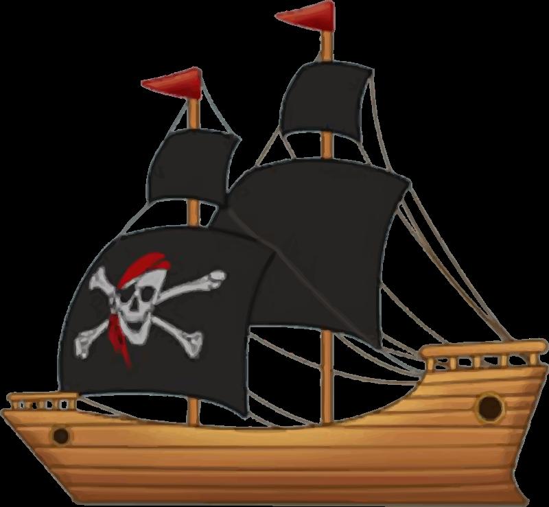 Pirate Boat3 Png 800 739 Pirate Ship Pirates Book Folding Patterns