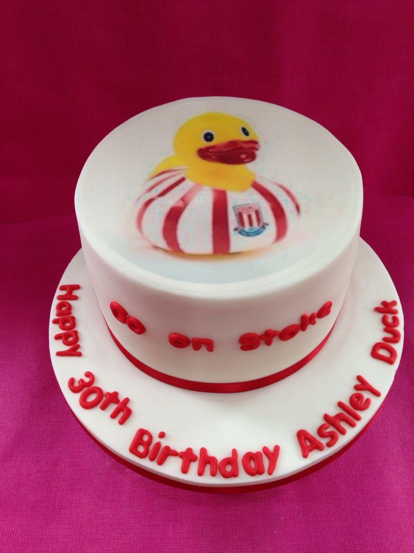 Stoke duck cake