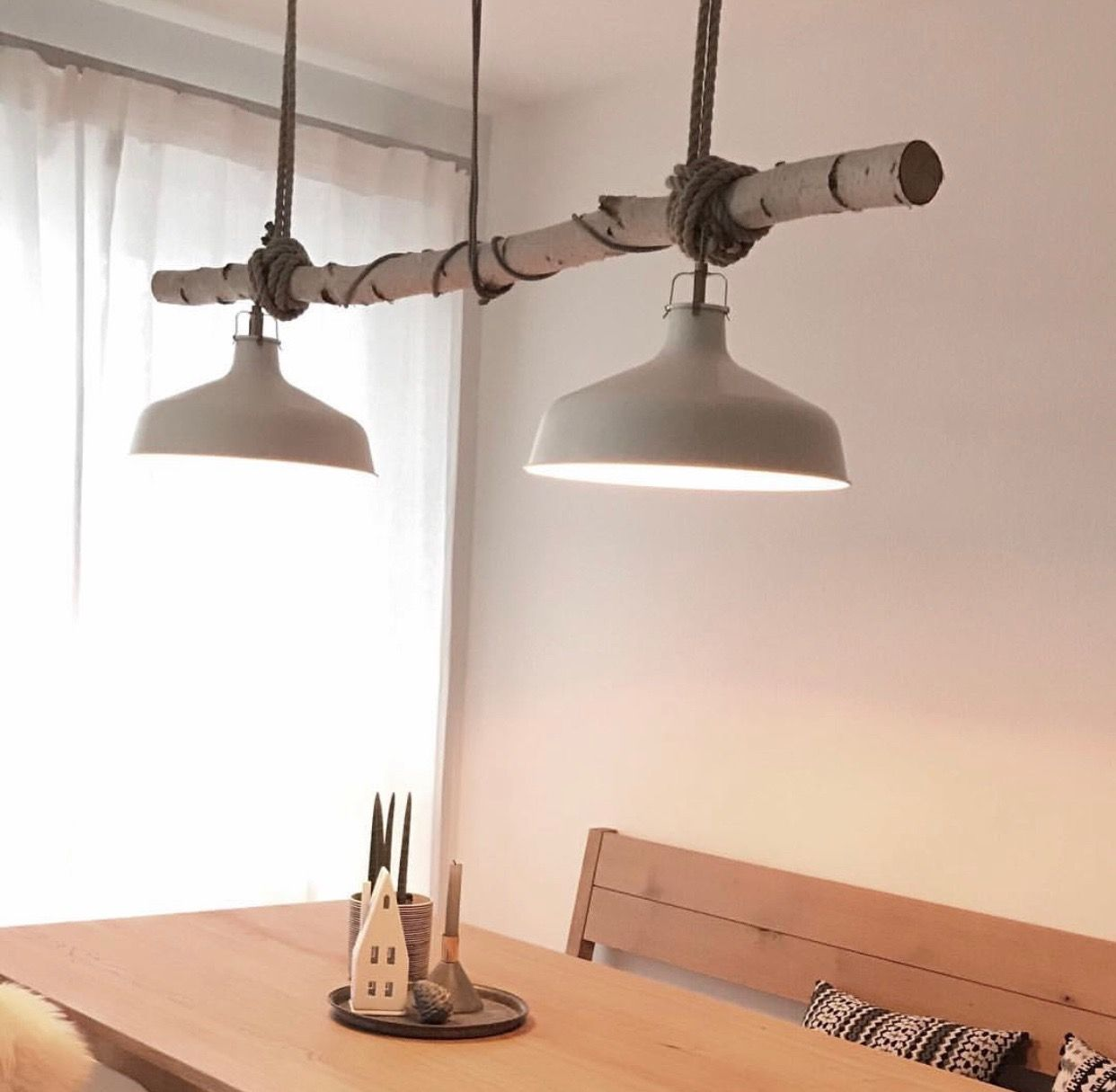 Pin Von Rosi Kahmann Weber Auf Mobel Esstischlampe Lampentisch