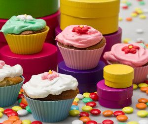 Cupcakes με ροδόνερο - Στέλιος Παρλιάρος