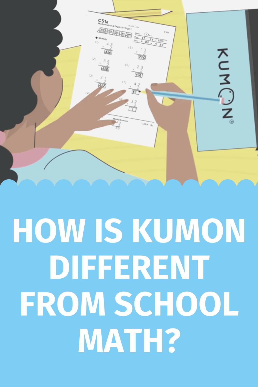 How Is Kumon Different From School Math Kumon Math Kumon Math Curriculum [ 1500 x 1000 Pixel ]