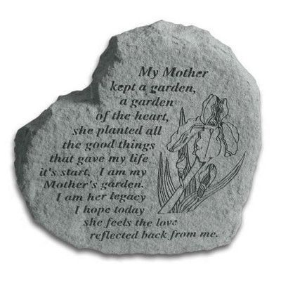 KayBerryInc My Mother Kept a Garden Stepping Stone