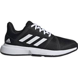 Adidas Damen Tennisschuhe Courtjam Bounce, Größe 39 ? In Cblack/ftwwht/msilve, Größe 39 ? In Cblack/