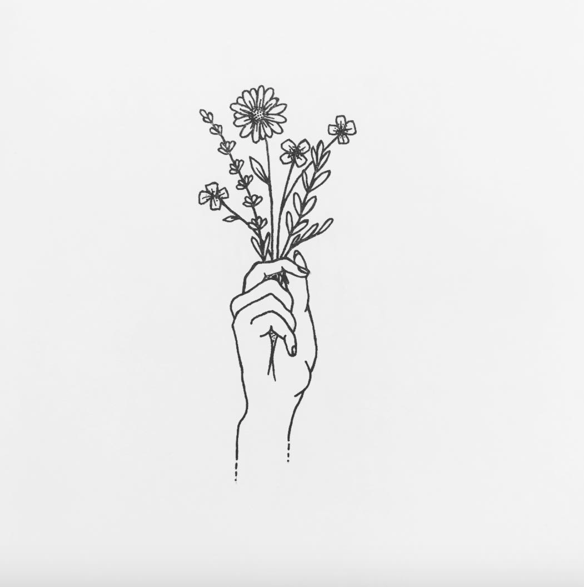 I Made This Hand Myself And Will Soon Be Available On My Youtube Channel Uncategorized Flower Drawing Hands Holding Flowers Drawings