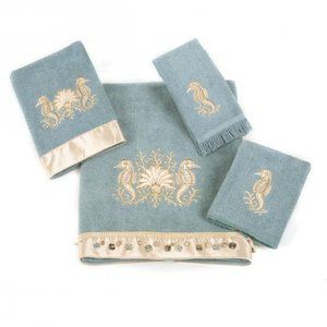 Seahorse Mineral Towel Collection With Images Towel Collection