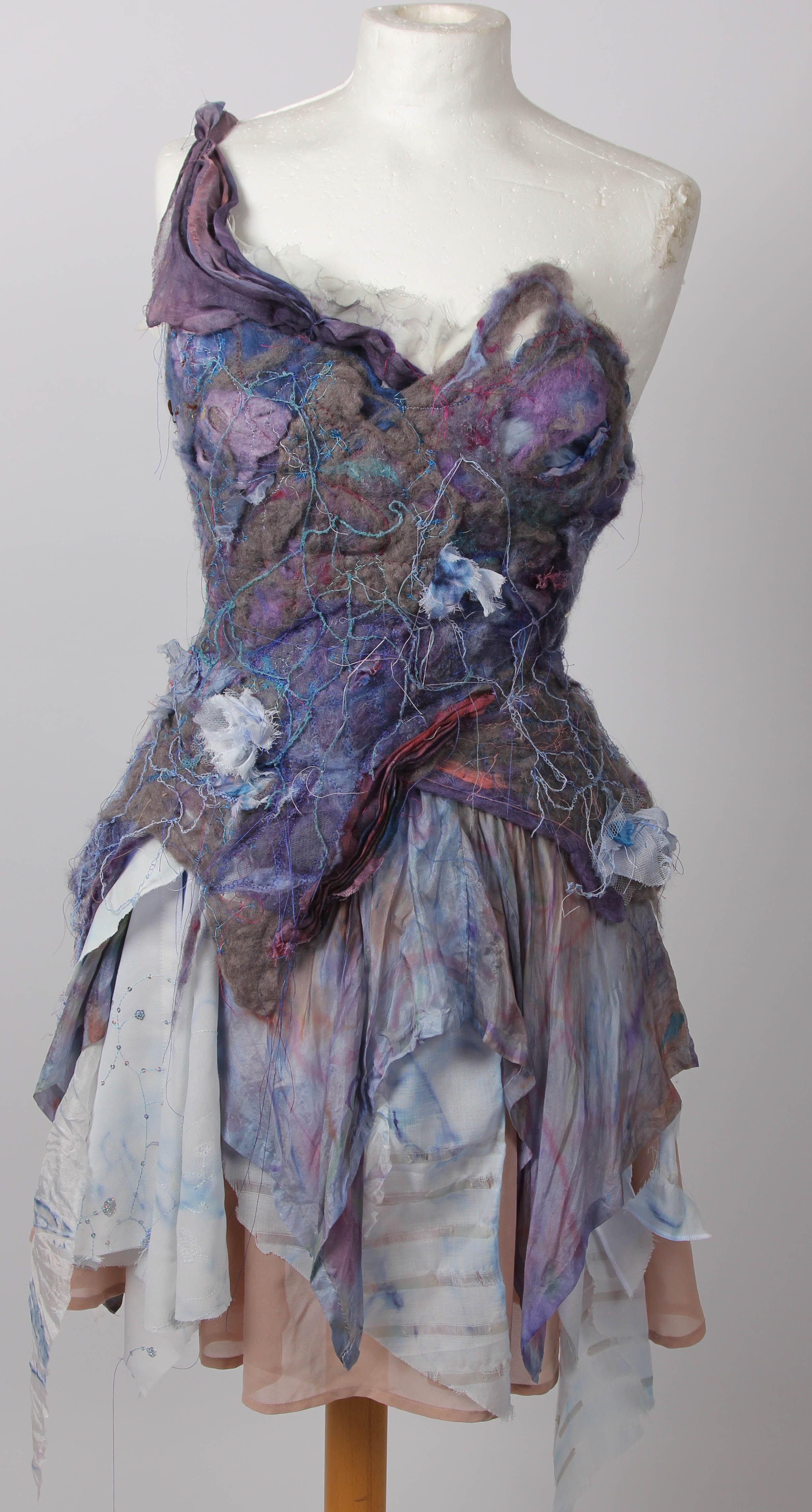 Design Final Outcome Advanced Higher Morrisons Academy Fashion Design Textiles Fashion Art Dress