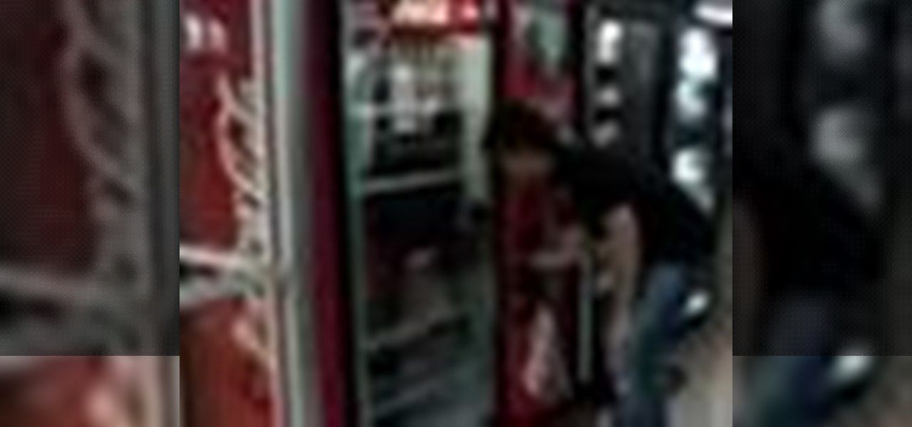 How to hack a soda machine to get a drink and a refund