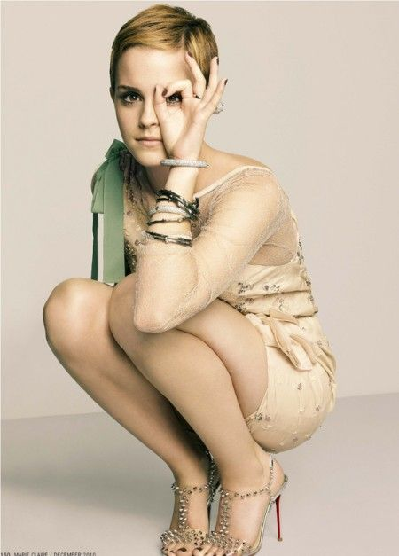 I love the new Emma Watson. I don't care what anyone says, she's fantastic.