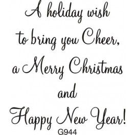 Holiday Wish To Bring Cheer Greeting With Images Christmas