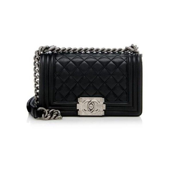 111547e83682 Rental Chanel Calfskin Small Boy Bag ( 365) ❤ liked on Polyvore featuring  bags