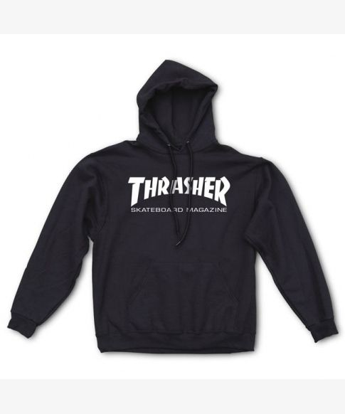 reputable site 6801d be003 Thrasher Sweat Hood Skate Mag Black