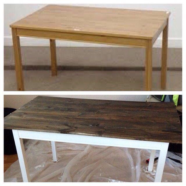 IKEA Jokkmokk dining table hack! | House-Kitchen/Dining | Pinterest ...