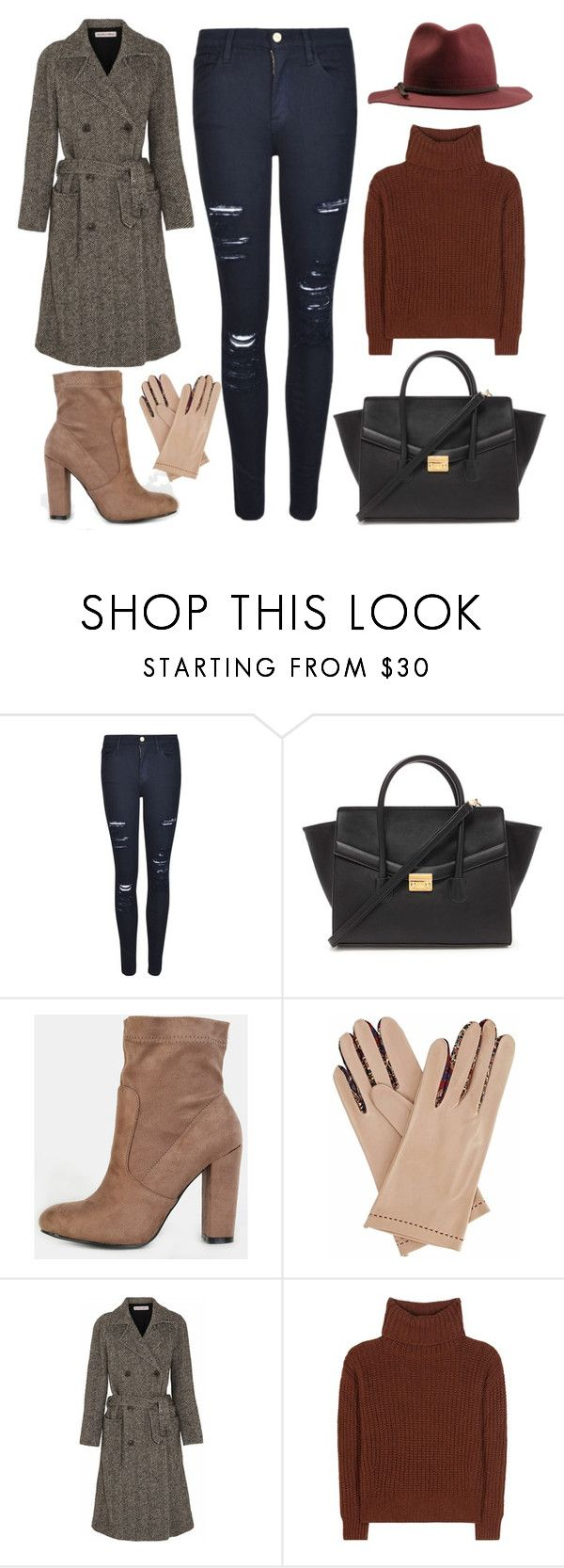 """""""Have A Nice Fall Season"""" by hiddensoulmemories ❤ liked on Polyvore featuring Frame, Forever 21, Gizelle Renee, See by Chloé, Loro Piana and Brixton"""