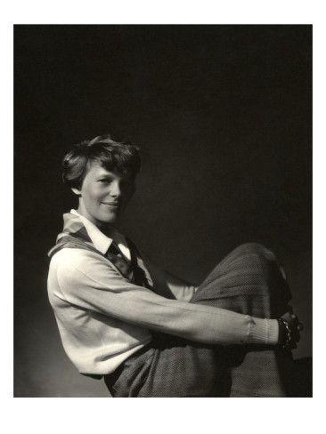 Amelia Earhart -Vanity Fair, November 1931