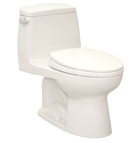 Toto Ms854114 01 Ultimate Elongated One Piece Toilet Cotton White By Toto The First Review Is Enough T Toto Toilet One Piece Toilets Modern Vintage Bathroom