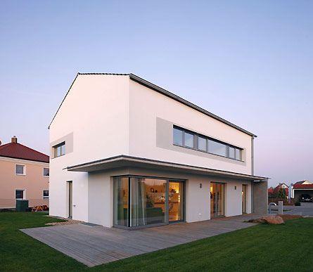 Haus b rger maute architektur einrichtung wohnideen Minimalistisches haus grundriss