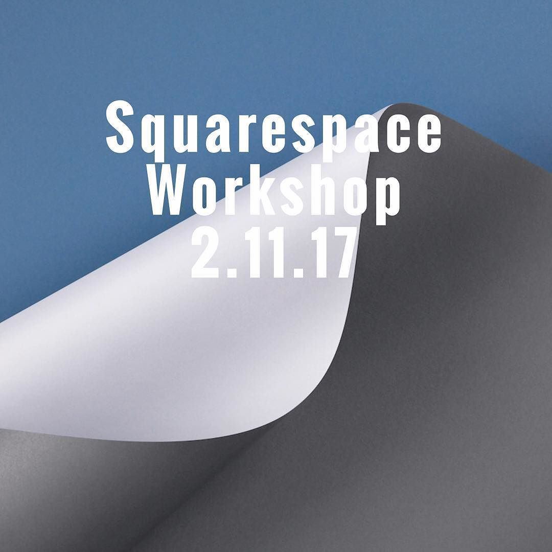 Curious about squarespace ? On Thursday I'll be running a