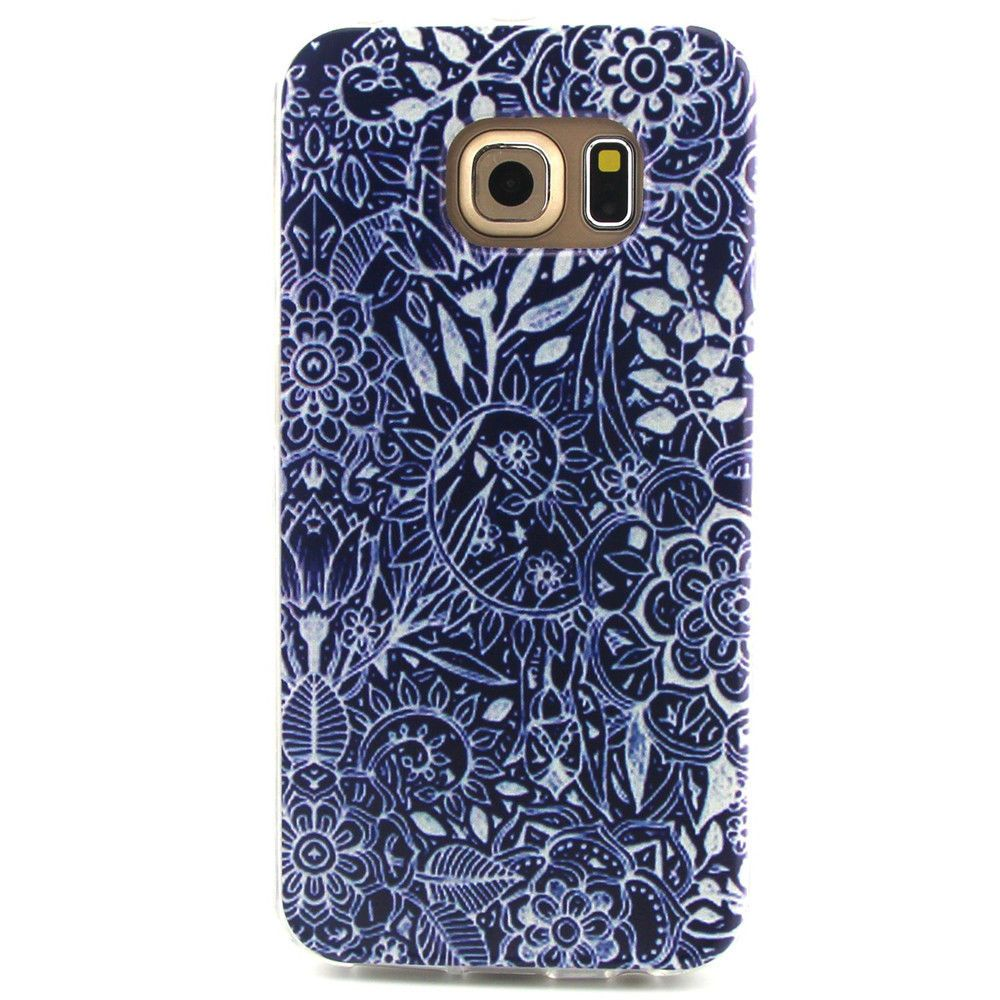 new styles 8faf4 26c62 Details about -YX Painted Soft Case Cover For Samsung Galaxy S6 Edge ...