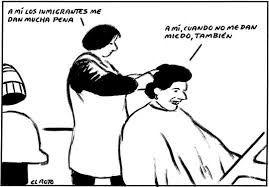 Image result for el roto viñetas inmigración