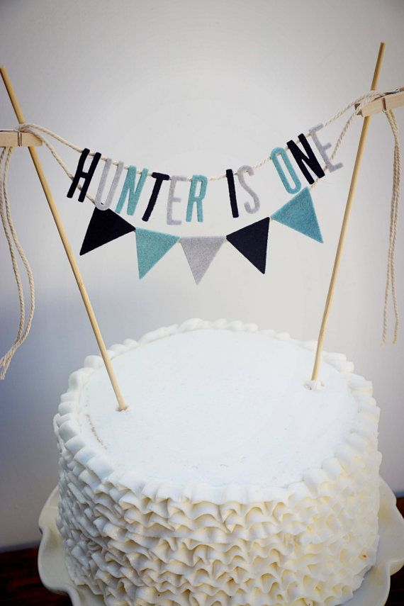 Personalized Cake Banner Personalized Cake by pipsqueakandbean
