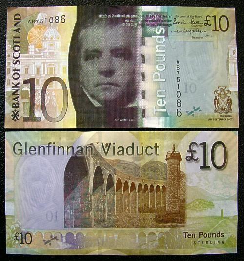 Libras De Escocia Billetes De Banco Historia De La Moneda Billetes Del Mundo