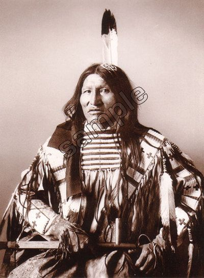 Kicking Bear, a leader of Ghost Dance religion