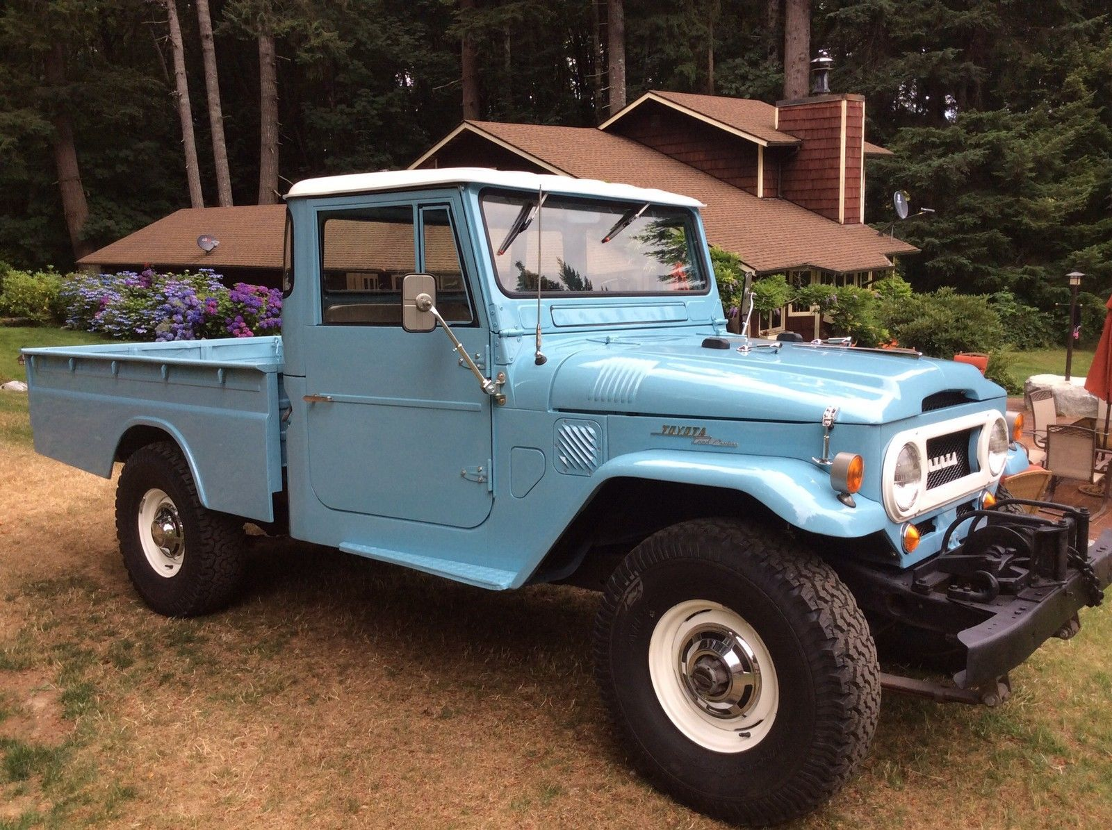 toyota land cruiser fj45 pickup off roadin 39 pinterest. Black Bedroom Furniture Sets. Home Design Ideas