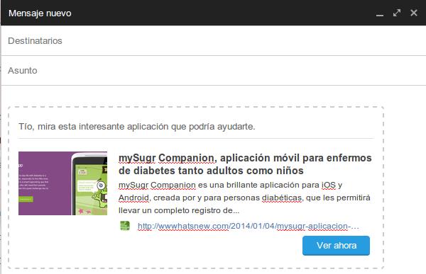 Clip Better. extensión de Chrome para compartir páginas web a través del email y de una forma elegante | Pagina web. Extensiones. Clip