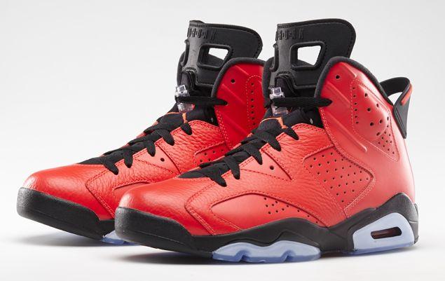 An Official Look At The Air Jordan 6 Retro Infrared 23 Air Jordans Nike Air Jordan 6 Air Jordans Retro