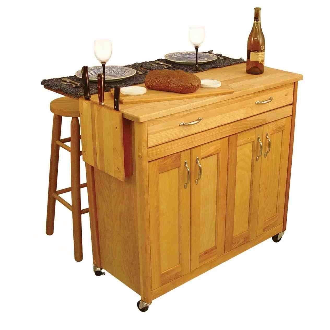 Hermosa Cocina De La Cabaña Carrito Por Los Artesanos De Catskill ...