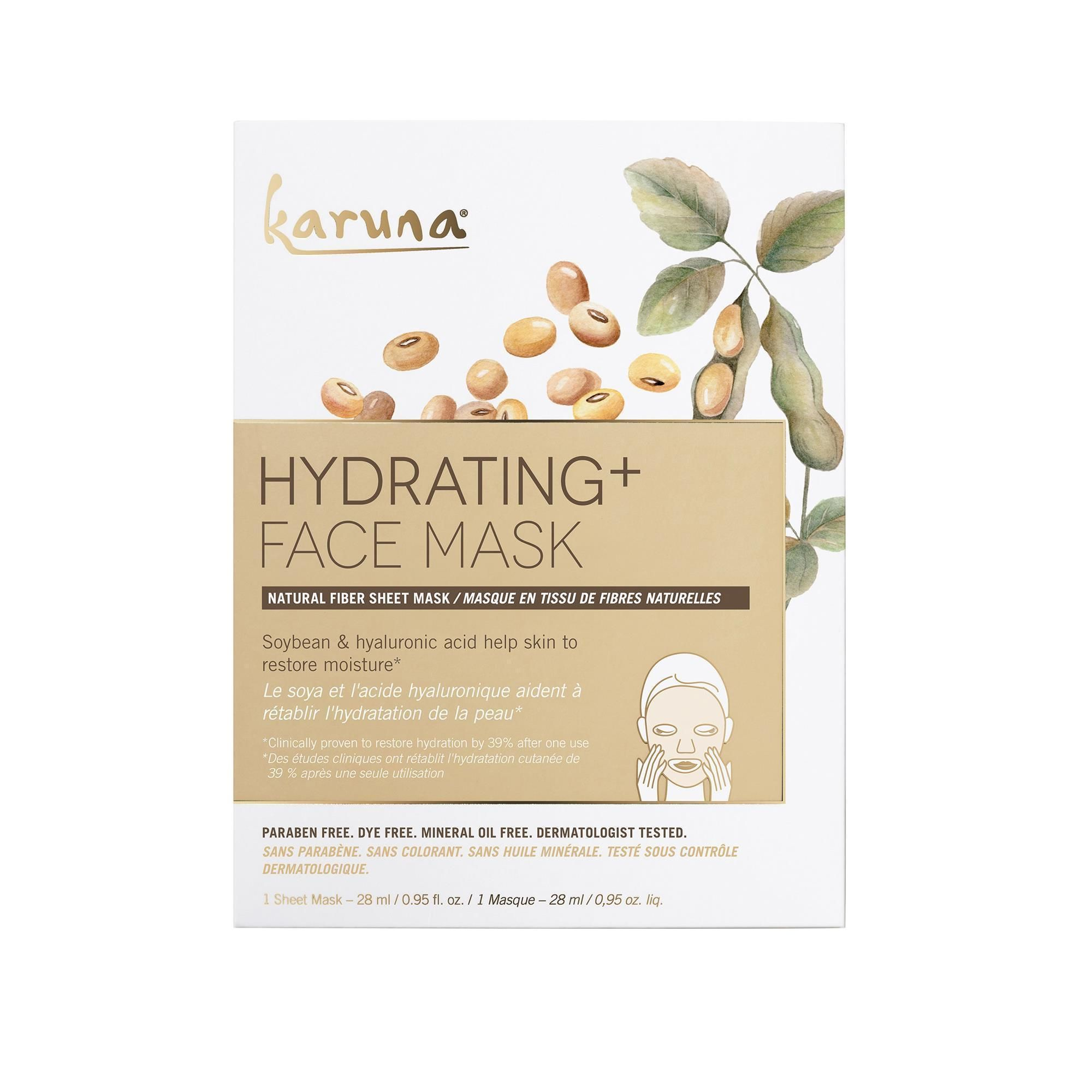 Photo of Karuna Hydrating+ Face Mask – 1 ct