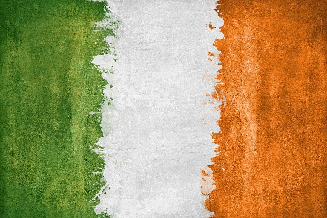 Irish Grunge Flag By Airborne2182 Flag Painting Flag Art Home Art