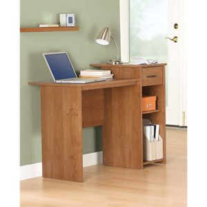 For The Boysu0027 Rooms: Mainstays Student Desk With Optional Office Chair  (comes In Black Or White, Too)