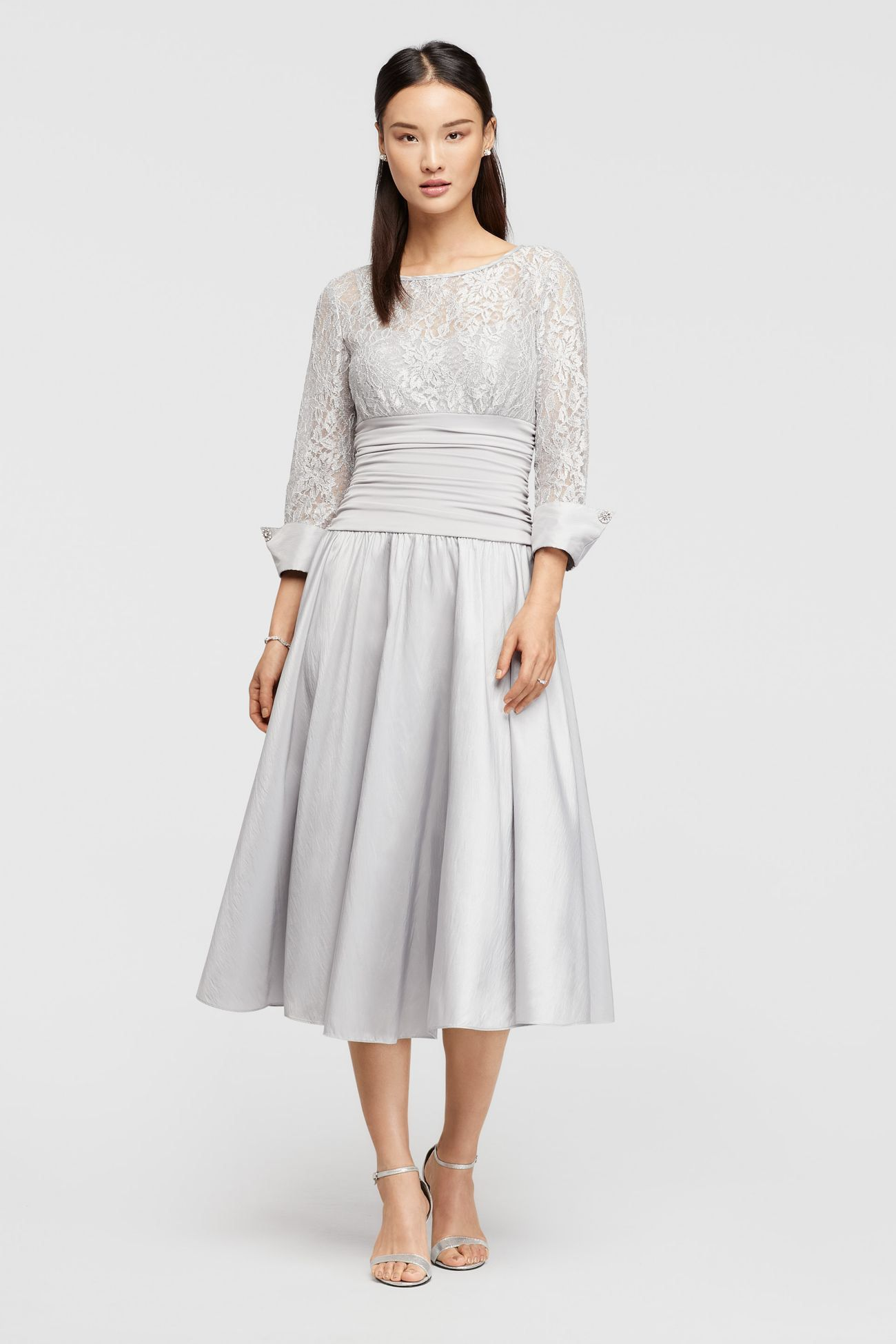 Dragonfly-Embellished+Lace+Midi+Dress,+Light+Musk+Green+by+Dolce+&+ ...