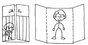 Joseph in Jail Coloring Sheet | Sunday school | Pinterest | Sunday ...