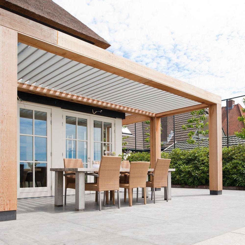 veranda van hout livium backyard pinterest terrasses ext rieur et decoration mur exterieur. Black Bedroom Furniture Sets. Home Design Ideas