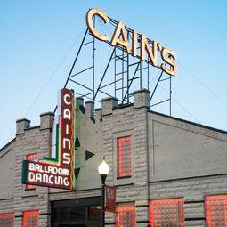 Cain S Ballroom Is A Historic Music Venue Along Route 66 In Tulsa Oklahoma Many