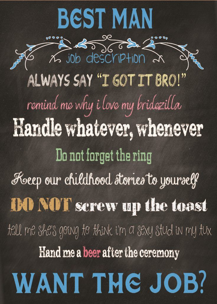 Will You Be My Best Man Card A Great And Fun Way To Ask