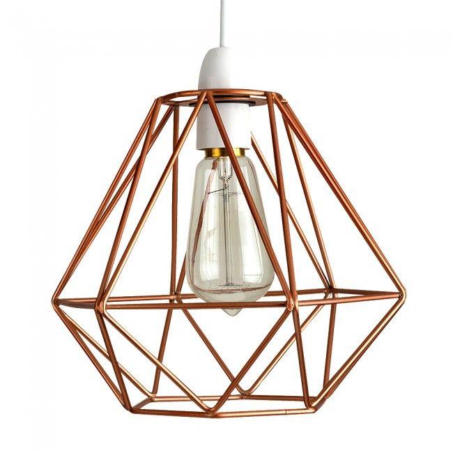 Bedroom Lamps Tesco: Diablo Copper Pendant Shade