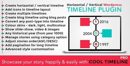 Cool Timeline Pro V WordPress Timeline Plugin Blogger Template - Timeline blogger template