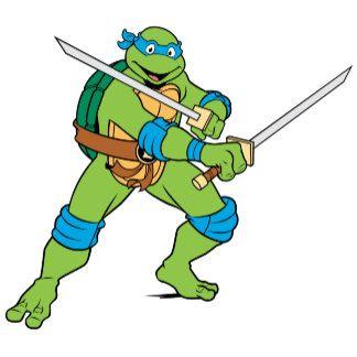 Ninja Turtle Leonardo Blu Multfilmy Cherepashki Nindzya