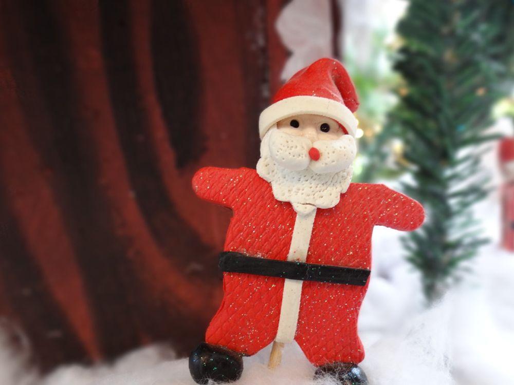 Santa Claus cookie