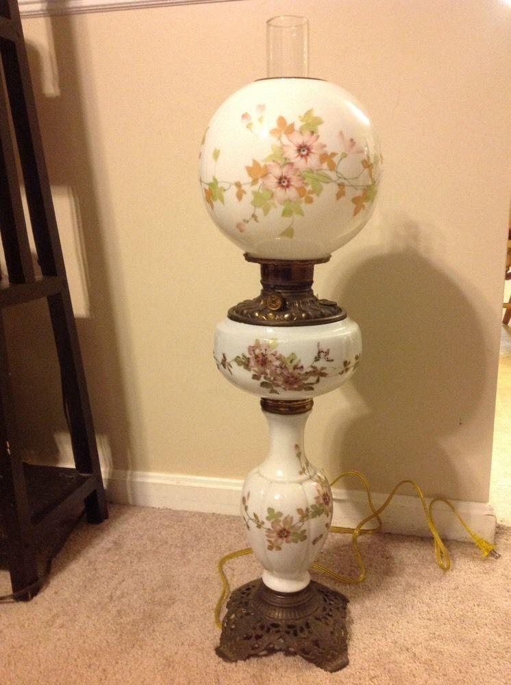 3-Tier Antique Banquet Lamp